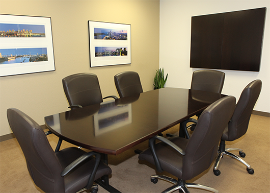 Pacific Business Center - Palo Alto meeting room