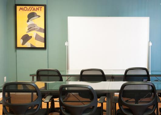 SaGE Office Suites presentation room